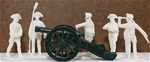1776 Artillery -- French Regulars w/ 12 pounder gu