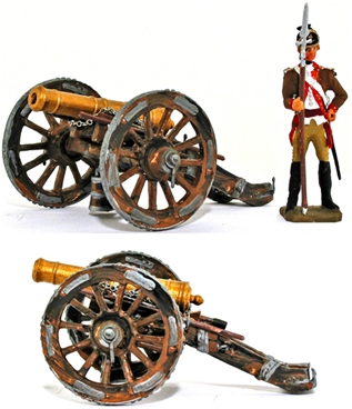 18th-19th Century 6-Pounder Field Piece