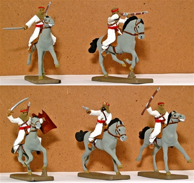 Arab Cavalry -- Fully painted