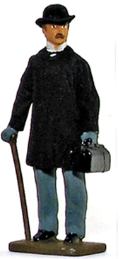 Dr. John Watson - with Cane and Medical Bag