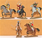 Mounted Afghan Tribesmen - Fully painted