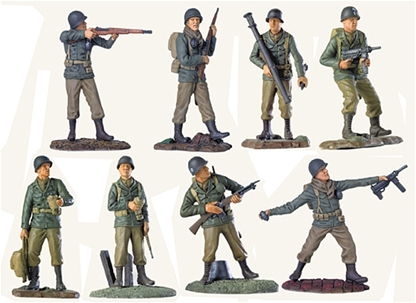 WWII American Infantry Set - Limited Run