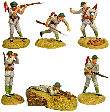 WWII Chinese Infantry - mint on card