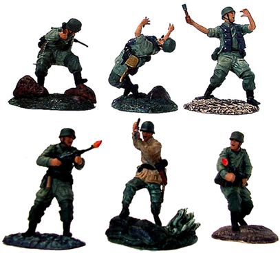 WWII German Infantry Set #4