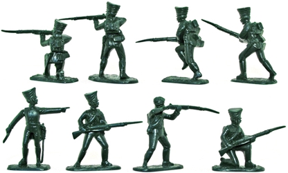Prussian Jaegers or Silesian Fusiliers