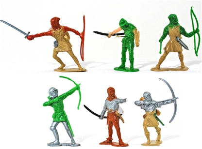 Medieval Archers - Assorted Makers