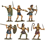 Female Gladiators - Fully Painted