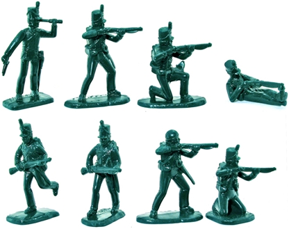 British Riflemen or 1812 American Riflemen