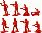 British Light Infantry - Red color