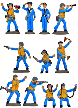WWII Sailors - Basic painted version