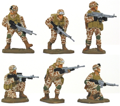 U S Marines Iraq- set 1 - full paint job