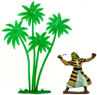Herald retired Recast Palm Trees - set of 4