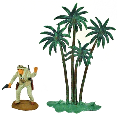 Herald Recast Palm Tree - basic painted