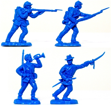 Recast Herald Civil War Union Infantry