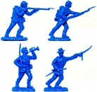 Recast Herald Union Infantry - set of 8