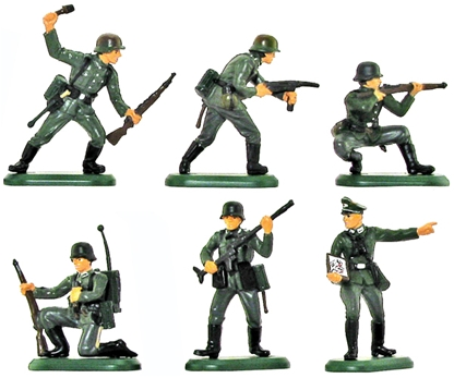 World War II German Infantry - 4th Version