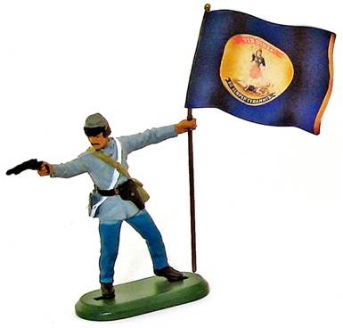 C.S.A. Virginia State Flagbearer (2006)
