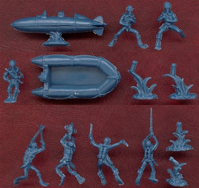 WWII Frogmen - sold without a box