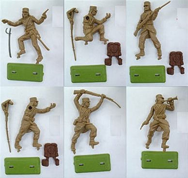 French Foreign Legion - unpainted - tan color