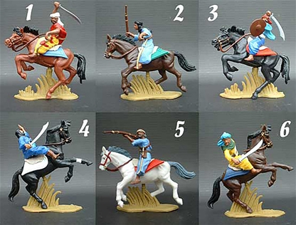 Arab Cavalry - Robes in Assorted Colors