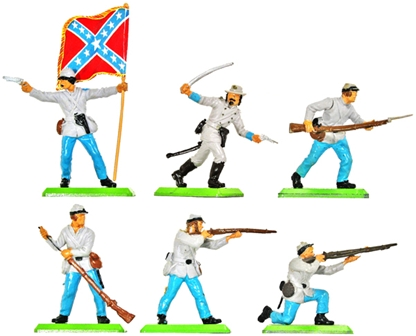 Deetail 1st Version Confederate Infantry