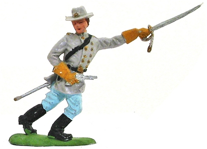 Herald Civil War Confederate Officer