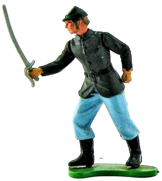 Swoppet Federal Infantry Officer
