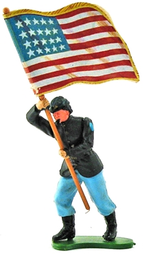 Swoppet Federal Infantry Standard Bearer