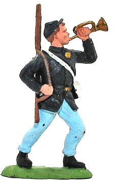 Herald Civil War Federal Bugler