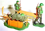 Swoppet WWII British Stretcher Party