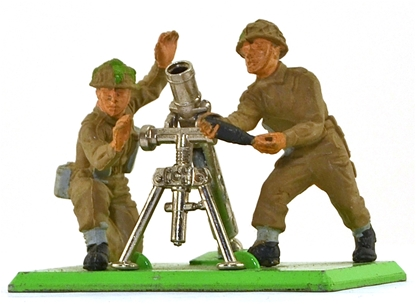 Deetail WWII British Mortar Team - no card