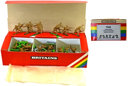 Deetail WWII British Infantry - Counterpack