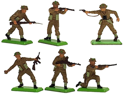 Deetail WWII British Infantry - Fully painted vers