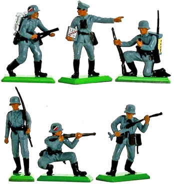 Deetail WWII Germans Set #2 - Counter Pack