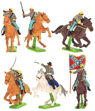 Deetail Confederate Cavalry (1978)