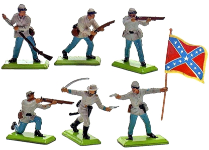 Deetail Confederate Infantry (1978)