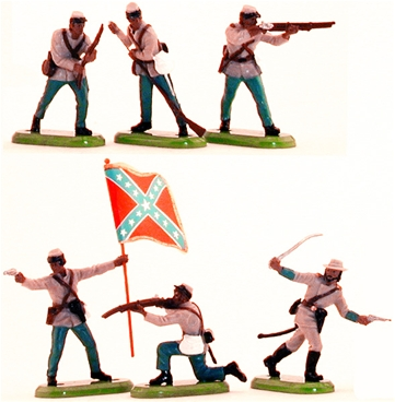 Deetail Confederate Infantry (2001)