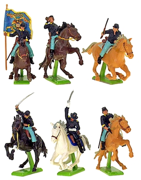 Deetail Union Cavalry (1978) - Mint on card