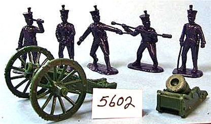Napoleonic French Line Howitzer and Mortar Set
