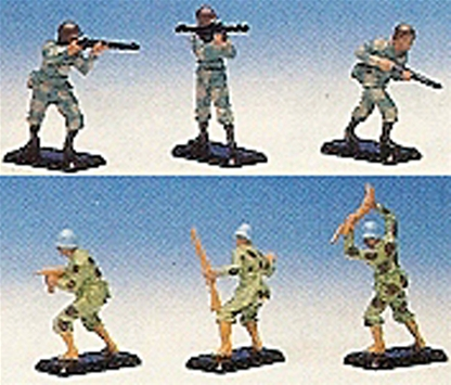 Blue Helmeted 'Peacekeepers' - Boxed set