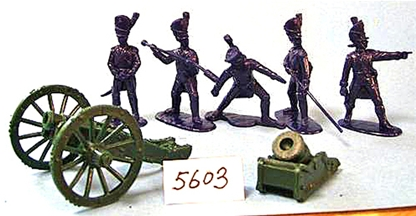Napoleonic French Guard Howitzer & Mortar Set