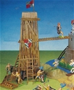Deetail Medieval Siege Tower - Mint in box