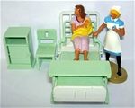 Nurse with Mother and Baby - Hospital Series