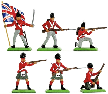 Deetail Napoleonic British Infantry