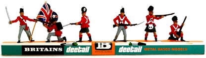 Deetail Napoleonic British Infantry - mint on card