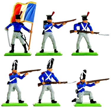 Deetail Napoleonic French Infantry