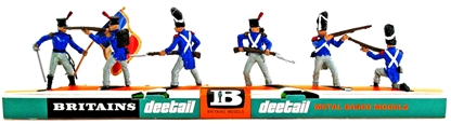 Deetail Napoleonic French Infantry - mint on card