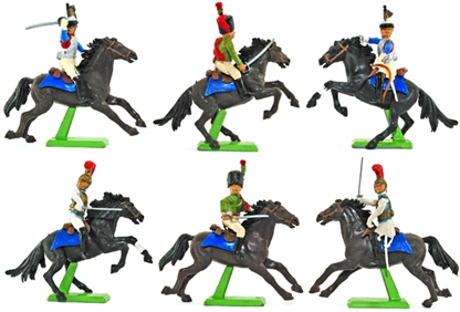 Deetail Napoleonic French Cavalry