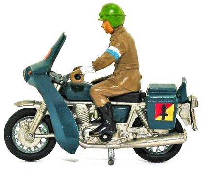 Deetail WWII British Dispatch Rider