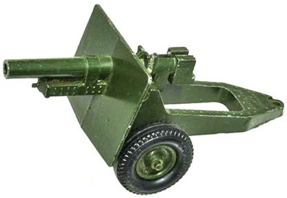 WWII 25-pounder Gun Howitzer - fair-good